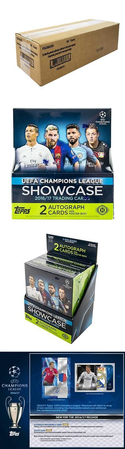 Soccer Cards 183444: 2016 17 Topps Uefa Champions League Showcase Soccer Hobby 8-Box Case -> BUY IT NOW ONLY: $642.95 on eBay!