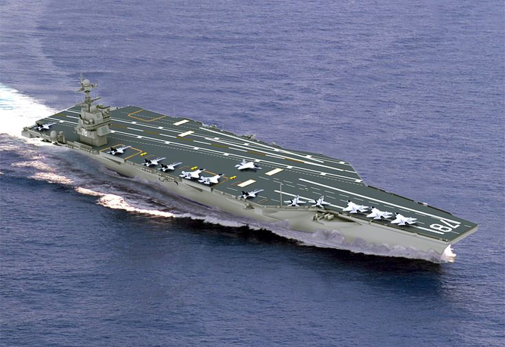 Picture of the USS John F. Kennedy (CVN-79) The USS John F. Kennedy CVN-79 will be the second of the Gerald R. Ford-class of nuclear supercarriers when she is commissioned in 2020 or later.
