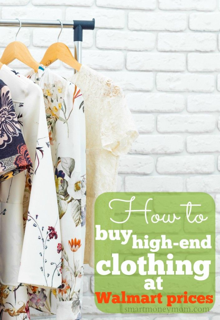 high end clothing at walmart prices