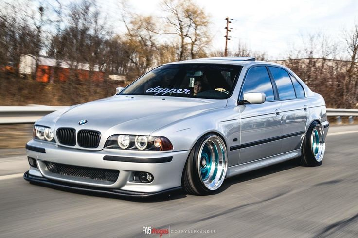 Bmw E39 M5 Slammed Bagged Stance Euro Auto Style