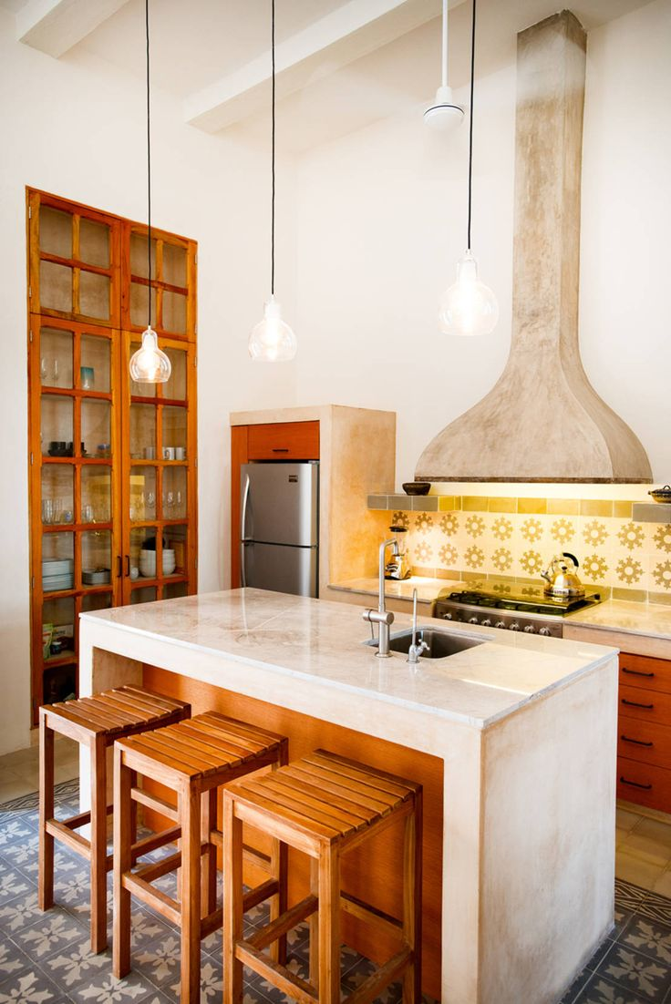 Casa GC55 : Cocinas eclécticas de Taller Estilo Arquitectura