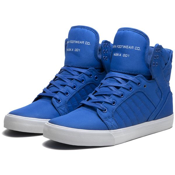 Supra Skytop ($66) ❤ liked on Polyvore featuring shoes, sneakers, supra, chaussures, zapatos, supra sneakers, supra footwear, supra shoes and supra trainers