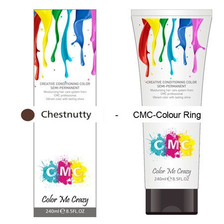 CMC SEMI-PERMANENT HAIR COLOUR – CHEST NUTTY (240ml) – Glitter Box Beauty