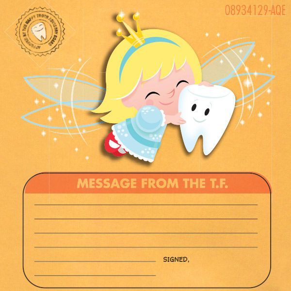 Tooth Fairy making a visit? Download a free printable Tooth Fairy certificate and envelope from Hallmark for a sweet way to record the details.