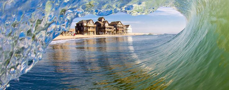 Waves, NC, on Roanoke Island on North Carolina's Outer Banks (OBX). Its name reflects the Atlantic Oceans influence on the tiny community.