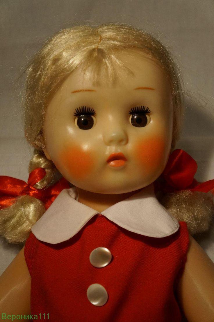 Кукла СССР Марина флиртующее глаза.