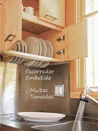 Os detalhes da cozinha são SUPER importantes!!! Veja alguns aqui