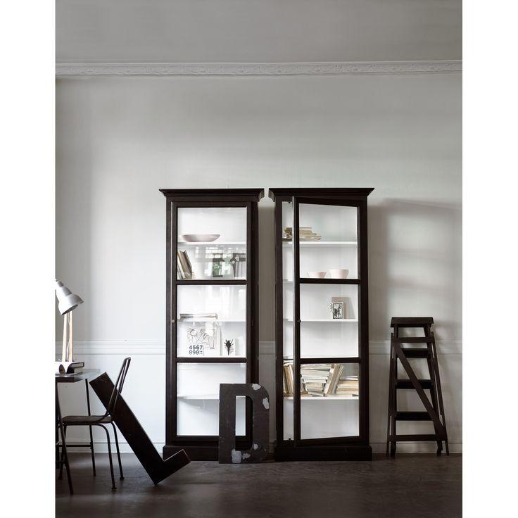 Glass case V1, black – Lindebjerg Design #interior #design #scandinavian