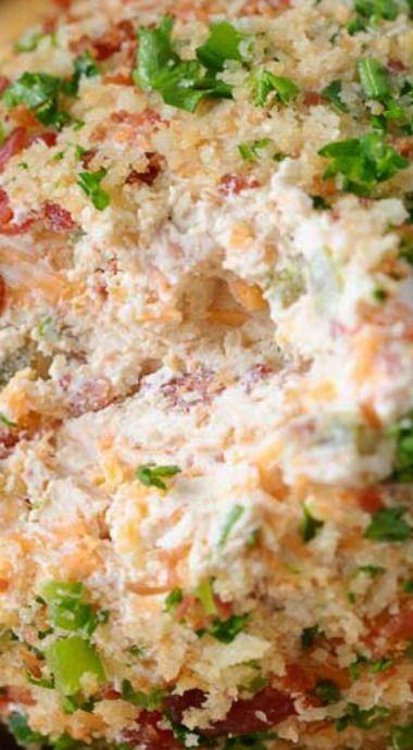 Bacon Jalapeño Cheese Ball Recipe