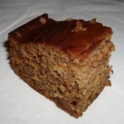 Fabulously Sweet Pear Cake Recipe -I have a box full of extremely ripe pears so I'm going to double the pears and use half the sugar.
