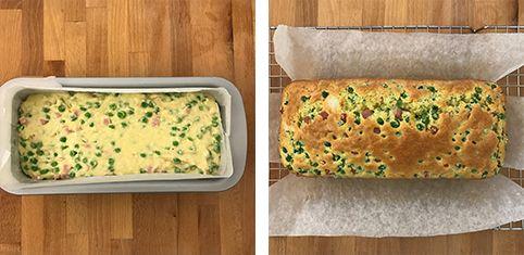Il plumcake con prosciutto e piselli è un preparato salato gustoso e morbidissimo.Una ricetta facile e veloce che risolve in pochi minuti il pranzo o la cena. È un'ottima idea pe
