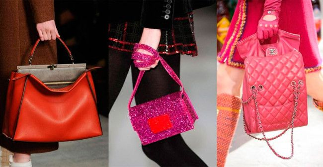 Fashion Handbags Fall-Winter 2014-2015: Colored Skin