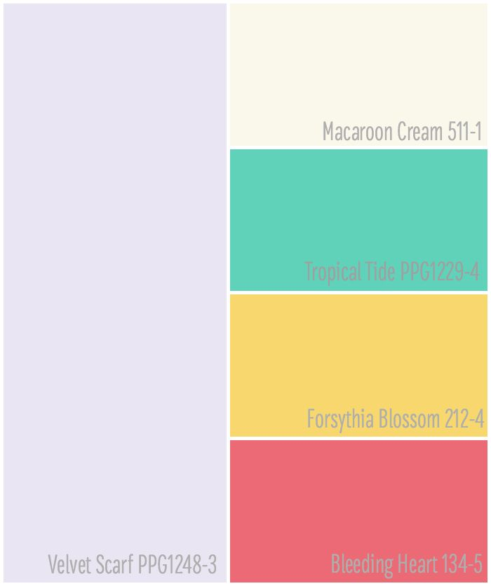 Five Paint colors that are Perfect for a Girls Bedroom Makeover  Pastels    Bold Colors. 17 Best images about Voice of Color Paint Colors in Real Homes on