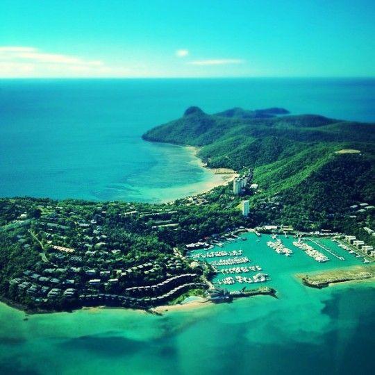 Memories of Hamilton Island #whitsundays #aerial #ocean
