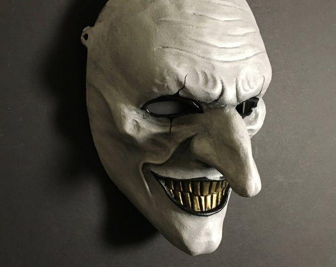 Moviebd Halloween 2020 Smile versión 2: Máscara de resina fundida | Etsy in 2020 | Mask