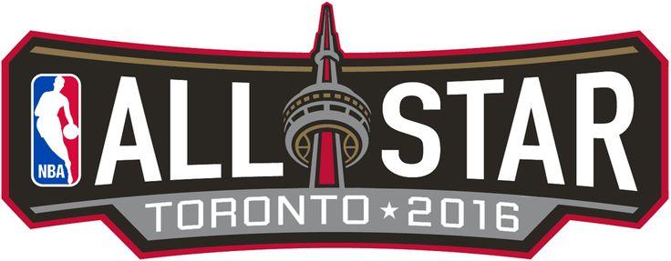 NBA All-Star Game Wordmark Logo (2016) - 2016 NBA All-Star Game Logo - Game played in Toronto, ON