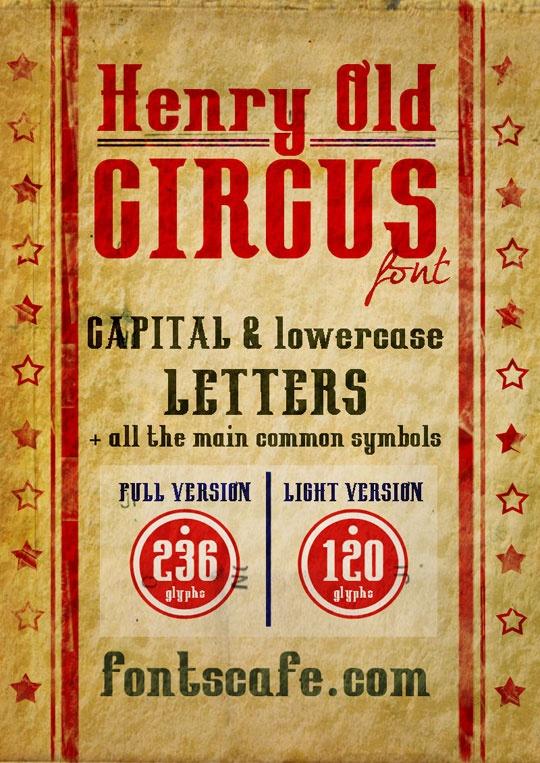circus font font packs old circus font downloads art designs fonts ...