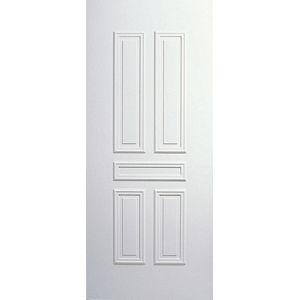 """Porte d'entrée PVC """"Noirmoutier"""" Gefradis. Fabrication française sur-mesure à prix d'usine en vente sur www.gefradis.fr."""