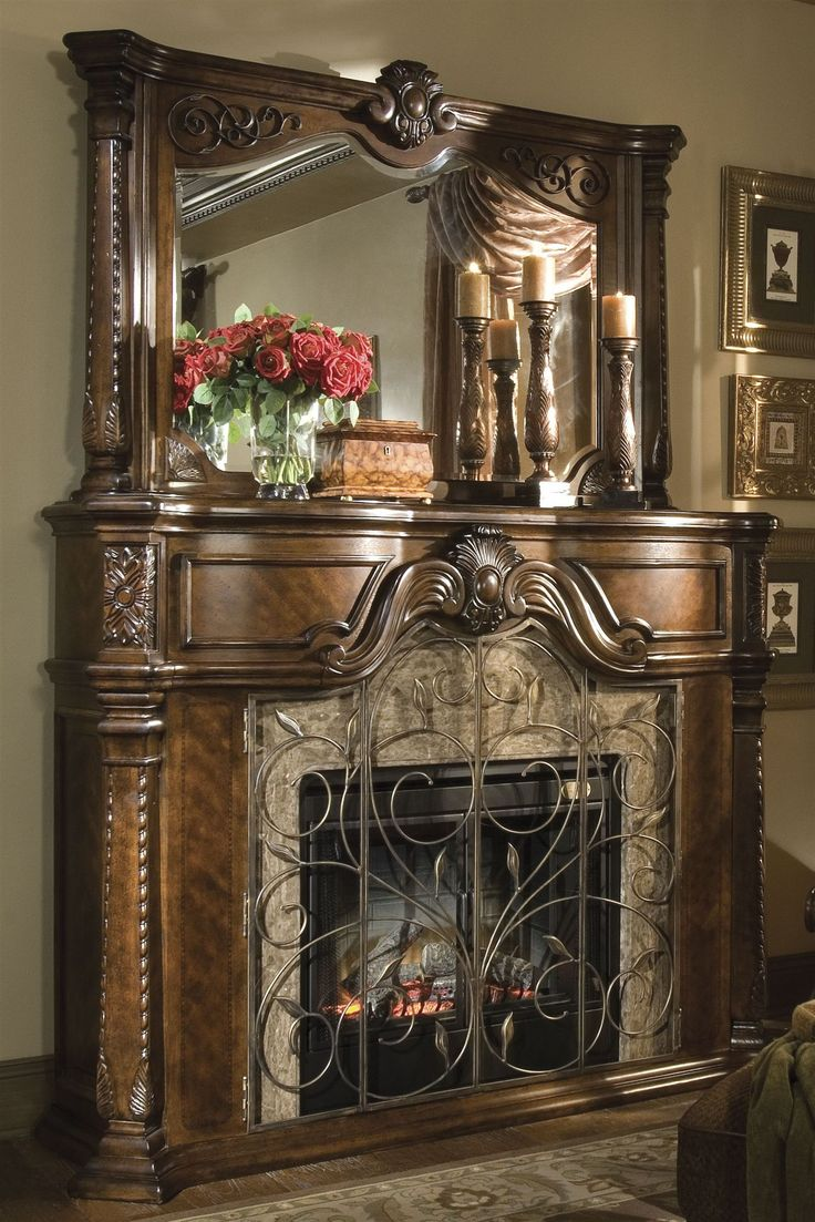 Windsor Court Fire Place The cultural traditions and casual yet refined comfort of the countryside of old England are expressed most beautifully in this unique collection. Each individual piece is crafted from only the best Birch solids, and is hand-carved, for delicate pieces that you can easily imagine once graced the castles of the English nobility.