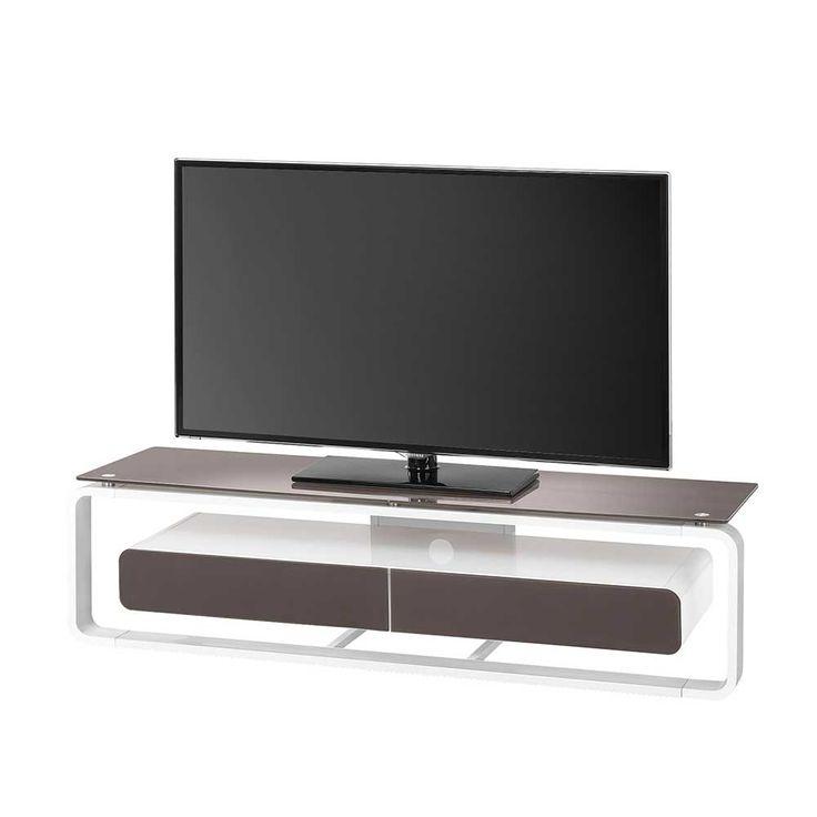 Die besten 25+ Tv rack weiß Ideen auf Pinterest Tv möbel weiß - wohnzimmer weis petrol