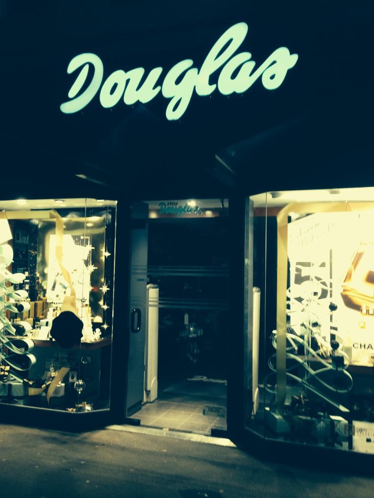 what would you do if you spent one night in a #douglas #perfumery?