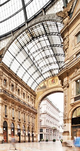 Milan is a world capital of fashion and design, and the numerous expos and fair locations can be easily reached by taxi or subway via the Porta Venezia station, a short walk from Chateau Monfort.