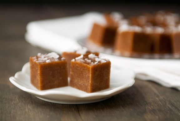 tahini-date salted caramels recipe | use real butter
