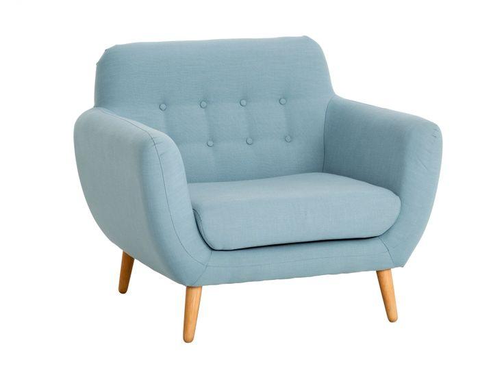WENDELA Sessel Hellblau in der Gruppe Für den Innenwohnbereich / Sessel / Sessel bei Furniturebox (100-34-65935)