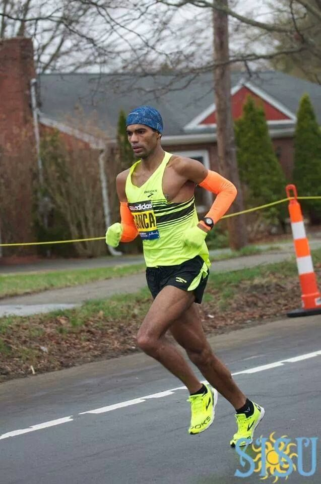 Ruben Sança is a Cabo Verdean long distance runner who specializes in the marathon. He attended and ran for University of Massachusetts Lowell as an All-American in the 5,000 meters, 10,000 meters and Cross Country. Currently he runs for the Whirlaway Racing Team based in northern Massachusetts. As a member of WRT, Ruben competes on local USATF-New England Grand Prix Series year-round and was crowned the overall series champion in 2014. He has posted 16 consecutive Top 5 finishes.