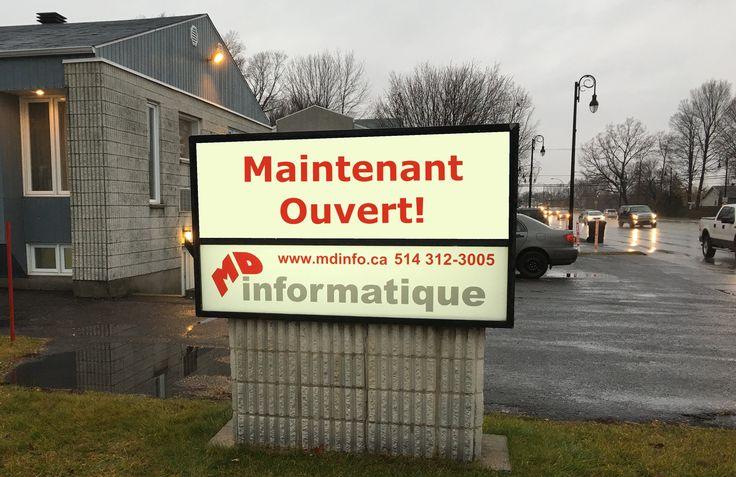 Nouvelle boutique informatique à Repentigny