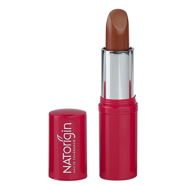 Lipstick in Gold (£17.75) Organic oils and waxes, keep your lips hydrated from the drying effects of the sun.