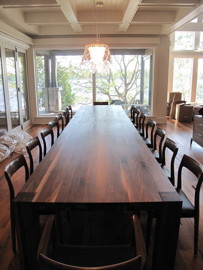 29++ Walnut dining table set with bench Best Seller