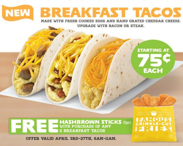 Guess What Del Taco is Doing for Breakfast? #DelTaco #breakfast #fastfood #tacos #TacoBell