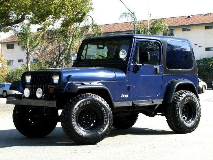 1995 Jeep Wrangler | 1995_jeep_wrangler_sport_navy_blue_6_cylinder_5_speed_manual_glendale ...