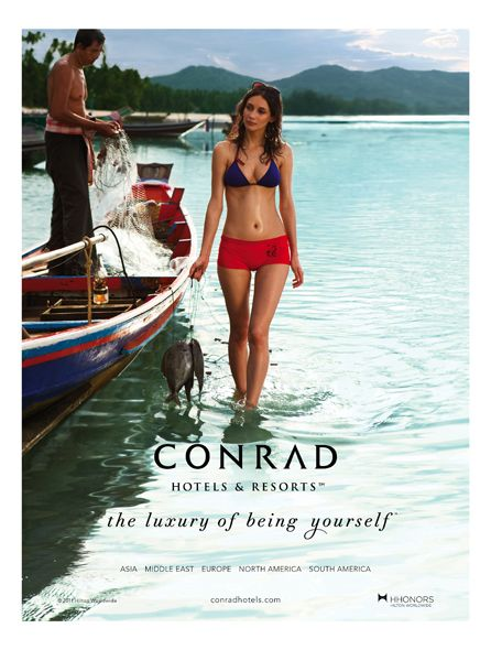 Conrad Hotels & Resorts Unveils New Brand Campaign (hotel ad)