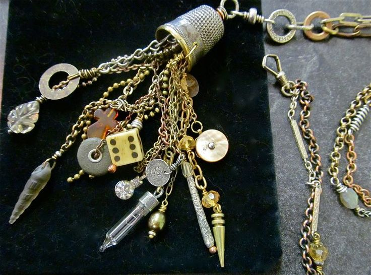 Teresa Loomis jewerly from found objects