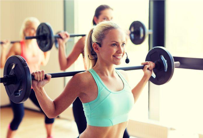 Levantar pesas y bajar de peso