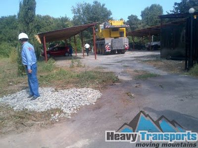 HeavyTransports- transport agabaritic: Transporturi agabaritice realizate in 2015