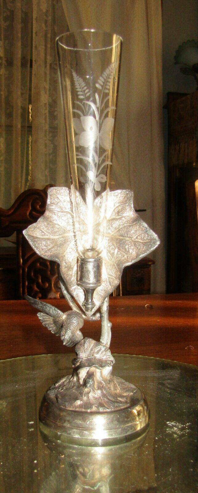 #FORSALE Victorian Silver Plated Figural Holder an…