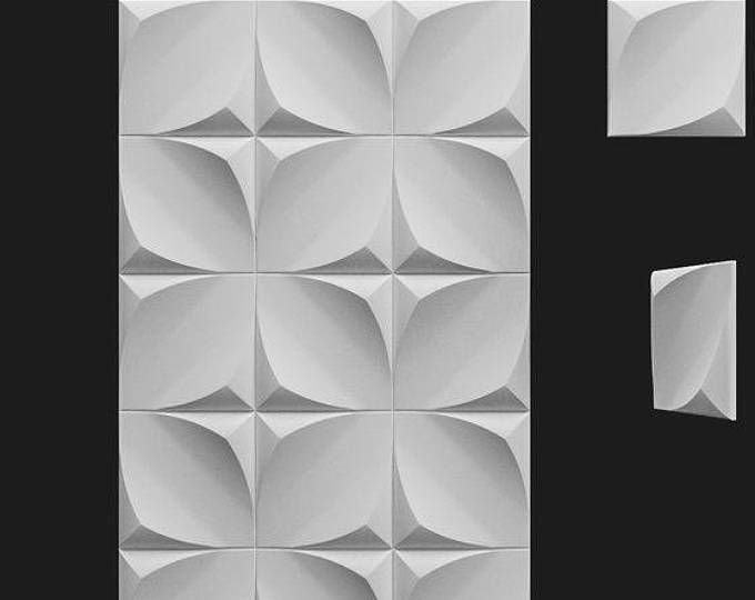 3d Wall Plastic Mold For 3d Decor Wall Panels For Gypsum Or Concrete Model 3d Wall Panels 3d Wall Decor Panel Wall Paneling Piramide Paneles De Pared Paneles De Pared