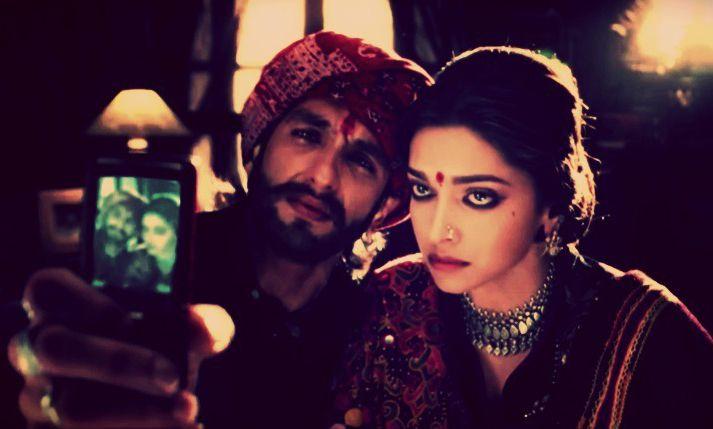 Ram-Leela - Ranveer Singh and Deepika Padukone