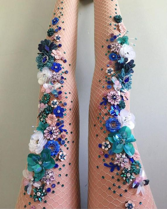 If you want mermaid legs, wear these tights