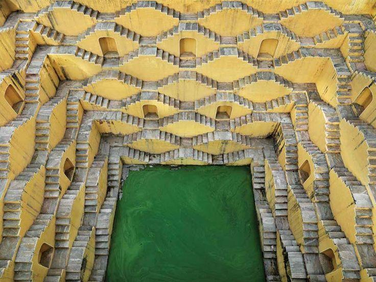 "Panna Meena, Amber, Rajasthan, India, Photo by Edward Burtynsky ""Stepwell #2″, 2010 Chromogenic print, Edition 1/15, 30"" x 40"" Courtesy the artist and Nicholas Metivier Gallery"