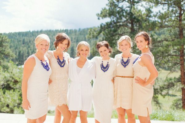 Whimsical Colorado mountain wedding: http://www.stylemepretty.com/2014/07/01/whimsical-colorado-mountain-wedding/ | Photography: http://www.adonyejaja.com/
