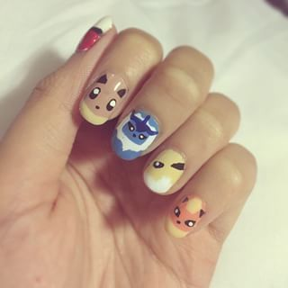 23 Awesome Nail Art Designs Inspired By Pokémon