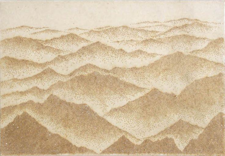 Incense Sticks Create Pointillist Utopias