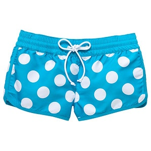 Girls' Board Shorts - Spot Print