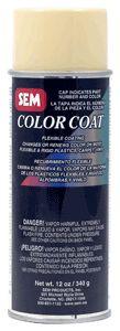 SEM Color Coat Aerosol Coatings, good for vinyl, plastic, carpet and velour