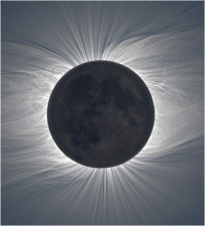 Solar Corona, photographed by Czech photographer Miloslav Druckmuller on the Marshall Islands.