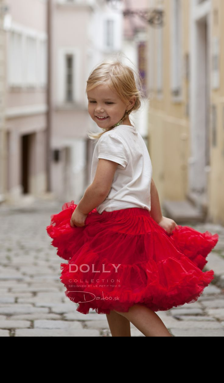 Little Red Riding Hood DOLLY skirt..on the way to find a princess :)